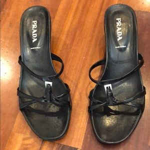 Authentic Prada size 9 sandal